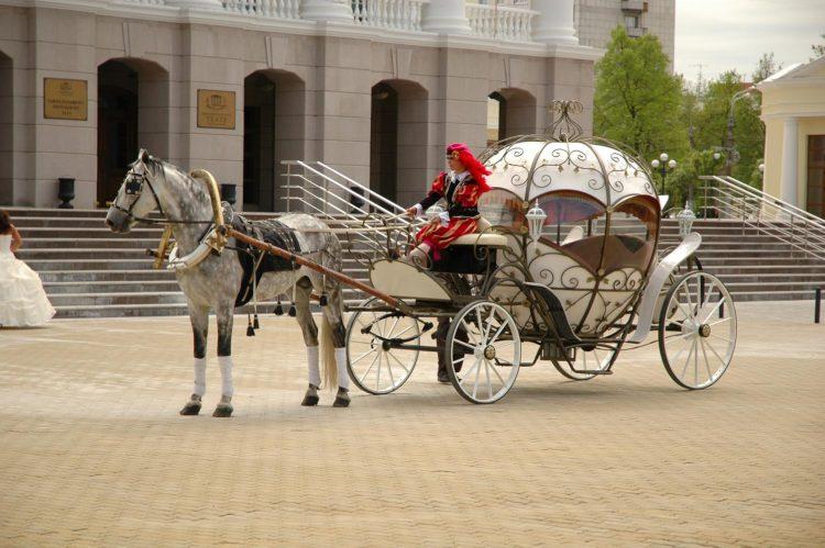 Русский конный экипаж