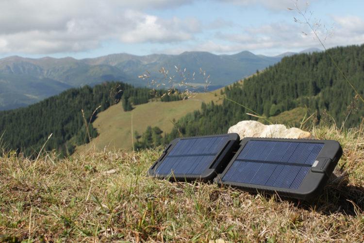 Походные солнечные батареи