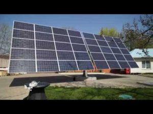 Установление солнечных батарей