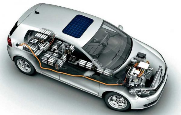 Автомобиль с аккумулятором