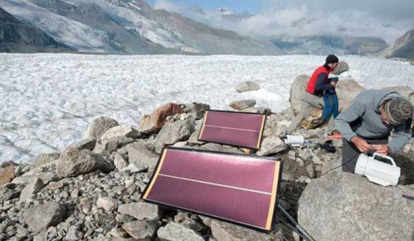 Солнечные батареи на экспедиции