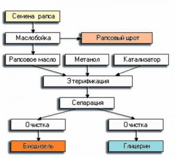Какиодизель производят б
