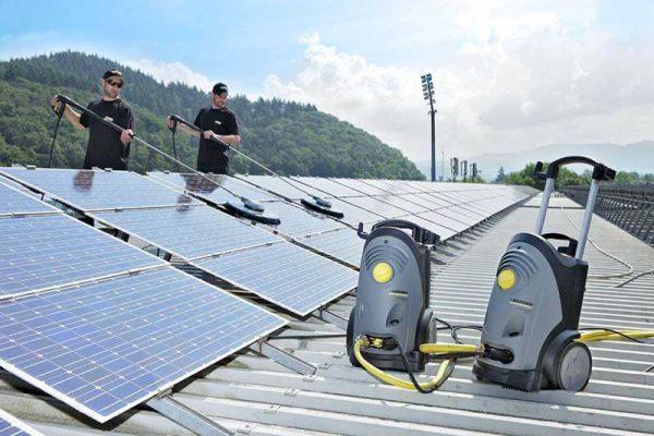 Уход за солнечными панелями