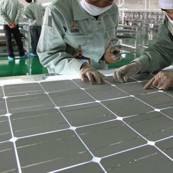 Изготовление солнечных батарей