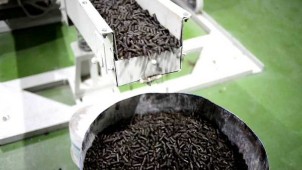 Производство пеллетов из лузги