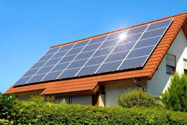 Электричество от солнечной батареи