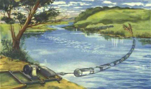 ГЭС тросная