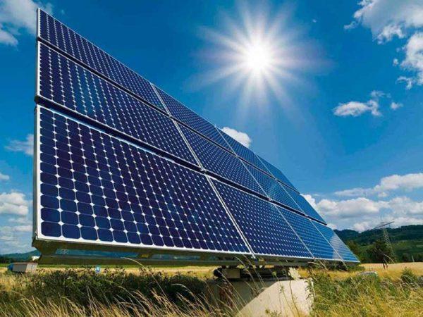 Работа солнечной электростанции