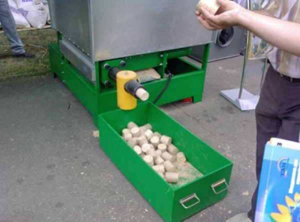 Производство пеллет дома